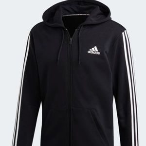 ADIDAS 3-STRIPES FRENCH TERRY HOODIE